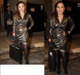 Escorregou: Wanessa Camargo erra em look anos80