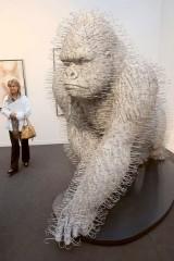 David Mach e a arte comcabides