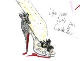 """Disney comemora novo """"Cinderela"""" com edição limitada de sapatosLouboutin"""