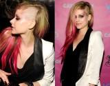Estilo: Avril Lavigne radicaliza e raspa asmadeixas