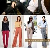 Moda: calça social e colete para usar notrabalho