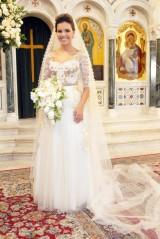 Salve Jorge: Casamento na Turquia com vestido assinado por Lethicia BronsteinPompeu